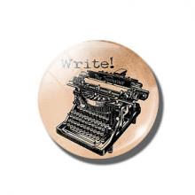 מגנט מגניב בעיצוב מכונת כתיבה רטרטו Retro