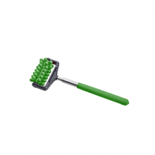מסג'ר גלגלת ידני עם זרוע טלסקופית בצבע ירוק