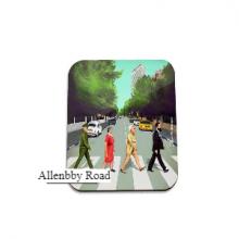 תחתית לספל מגניבה באיור אלנבי רוד -  Allenbby Road