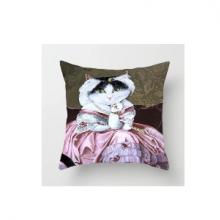 כרית מהממת בהדפס חתול דגם 2