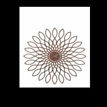 שעון קיר חמניה