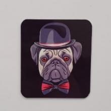 מגנט כלב בולדוג שחור