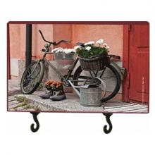 מתלה מפתחות אופניים - אדום