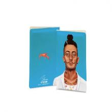 כיסוי לדרכון מגניב באיור בדמותו של סלבדור דאלי - Salvador Dalí